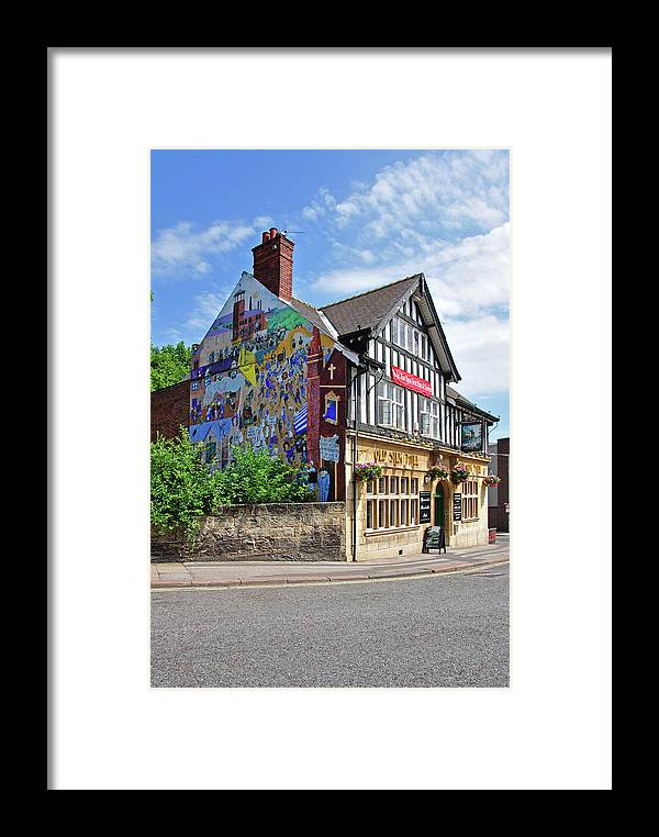 Outdoors Framed Print featuring the photograph Old Silk Mill - Derby by Rod Johnson