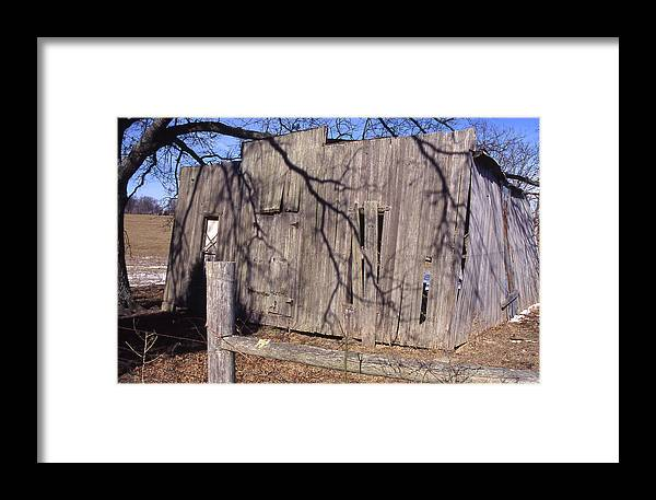 Framed Print featuring the photograph Old Storefront by Curtis J Neeley Jr