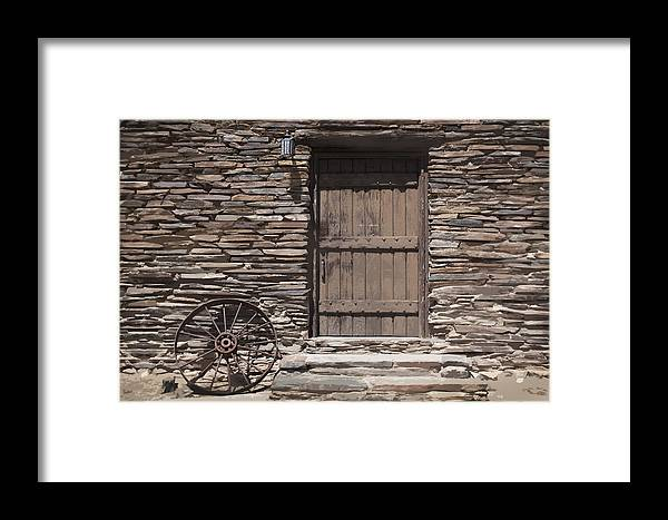 Old West Framed Print featuring the photograph Old West by Kelley King