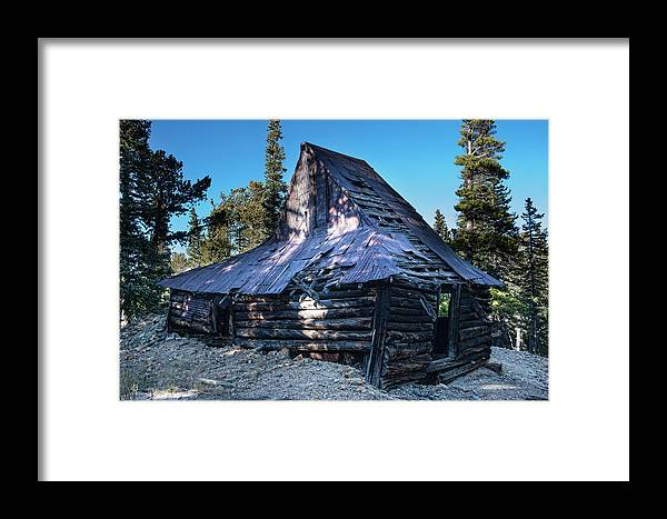 Rustic Framed Print featuring the photograph Old Witch Hat Gold Mine by James BO Insogna