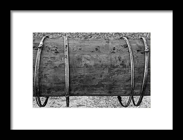Old.wooden Framed Print featuring the photograph Old Wooden Pipe by Viktor Savchenko