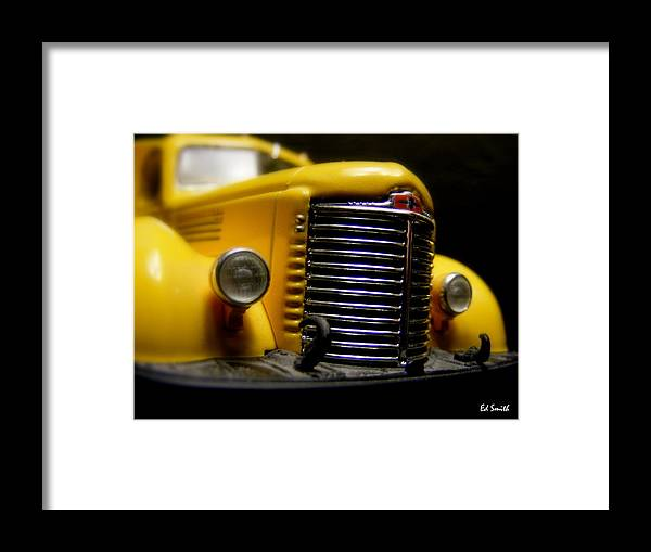 Old Work Horse Framed Print featuring the photograph Old Work Horse by Edward Smith