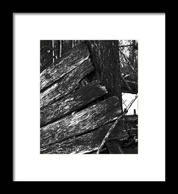 Framed Print featuring the photograph Olddoornextdoor16-18 by Curtis J Neeley Jr