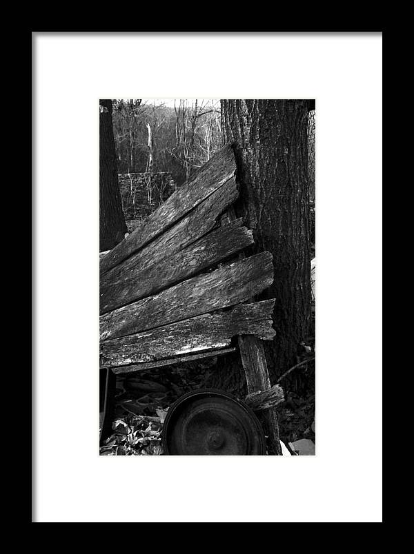Framed Print featuring the photograph Olddoornextdoor21-23 by Curtis J Neeley Jr
