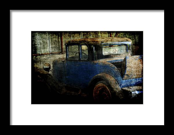 Old Cars Framed Print featuring the photograph Oldie by Ernie Echols