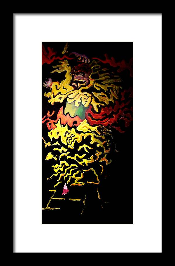 Figurative Framed Print featuring the painting Ole Tampa by Elio Lopez