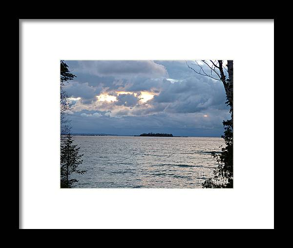 Island Framed Print featuring the photograph On An Island by Scott Ward