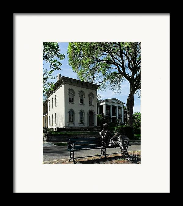 Covington Kentucky Framed Print featuring the photograph On Riverside Drive by Mel Steinhauer