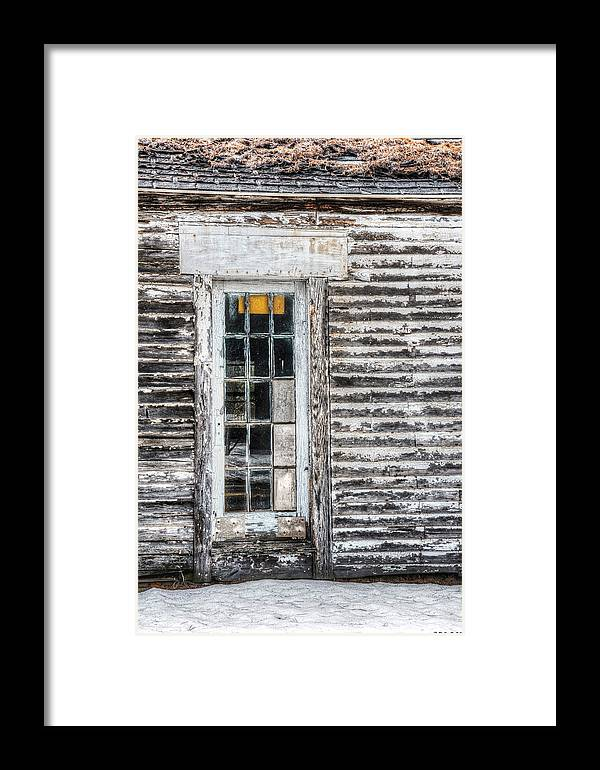 Architecture Framed Print featuring the photograph On The Inside by Richard Bean