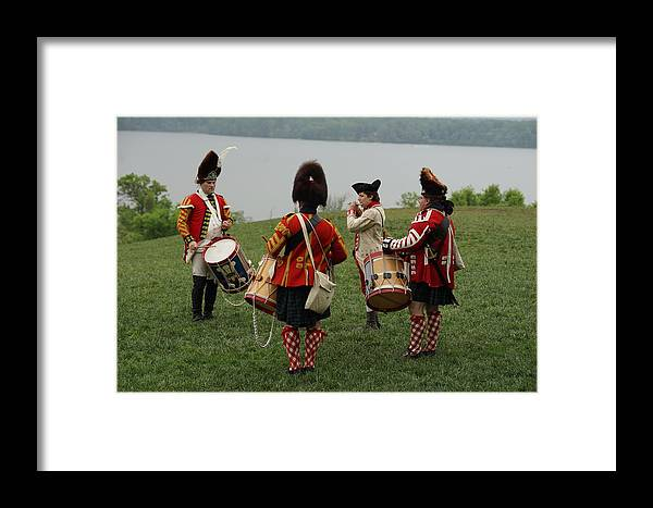 Revolutionary War Framed Print featuring the photograph On The Potomac by Carrie Goeringer