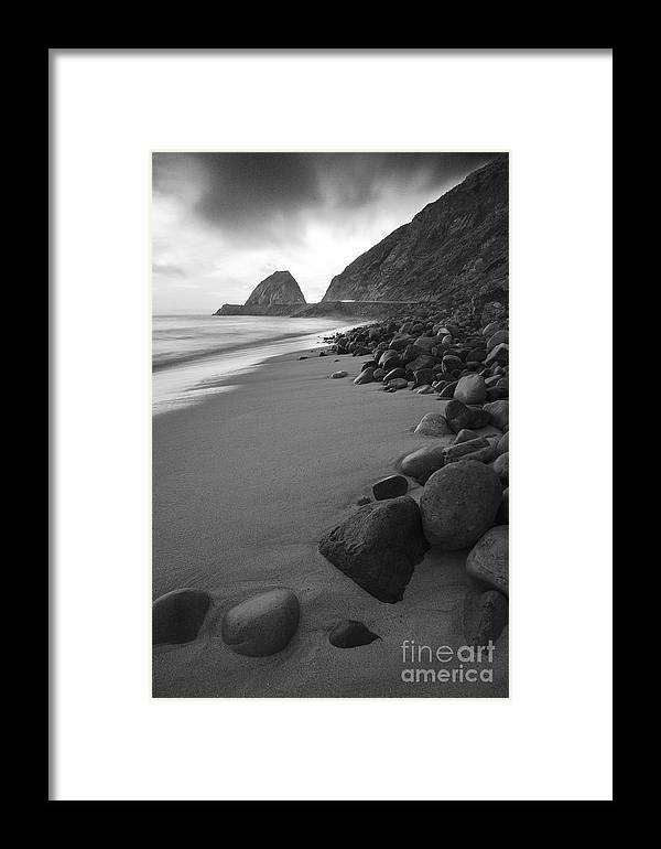 Beaches Framed Print featuring the photograph On The Road To Happiness by Greg Clure