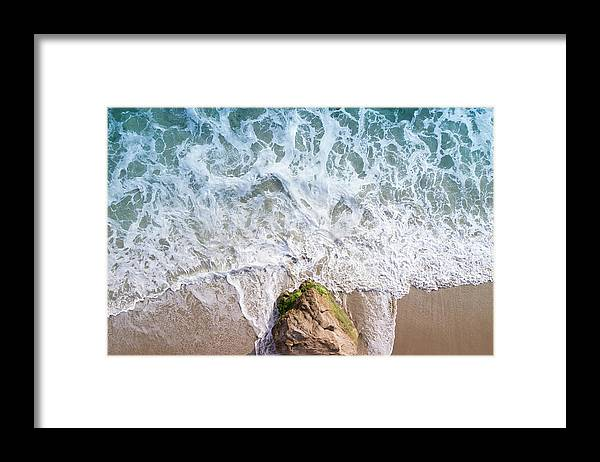 Sunset Framed Print featuring the photograph Corona Del Mar by Seascaping Photography