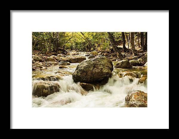 Kanacamangous Highway Framed Print featuring the photograph On The Rocks by Terri Morris