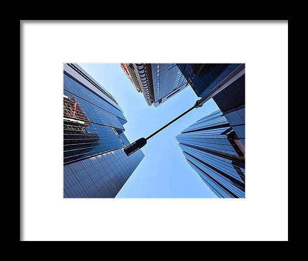 Sydney Framed Print featuring the photograph On The Street by Sonia Pizzinelli