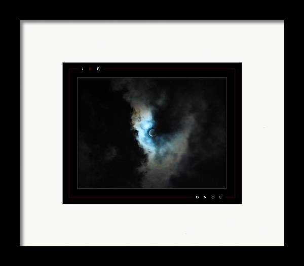 Blue Framed Print featuring the photograph Once by Jonathan Ellis Keys