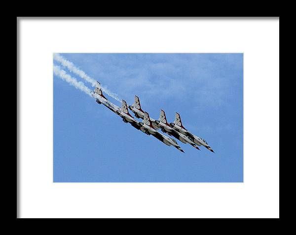 Airplane Framed Print featuring the photograph One Big Mess Of Trouble by David Dunham