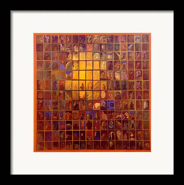 Light Symphony Framed Print featuring the painting One Hundred And Ninety Two by James LeGros