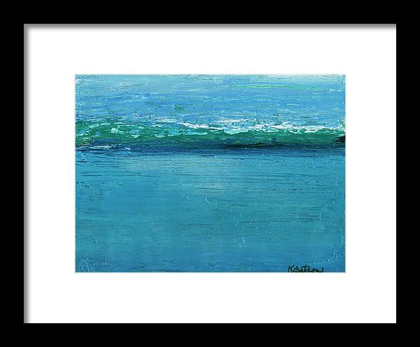 Canvas Print Framed Print featuring the painting One More Time by K Batson Art