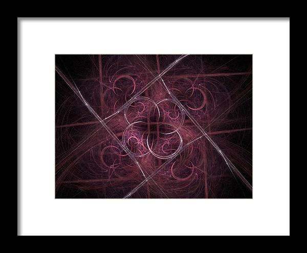 Kyoto Framed Print featuring the digital art One Night In Kyoto by NirvanaBlues