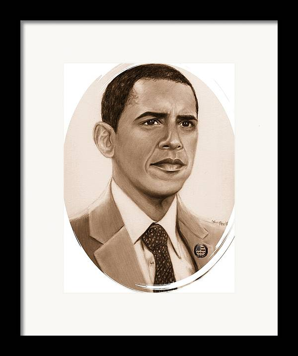 Barack Framed Print featuring the print One Of Unchartered Waters by Carliss Mora