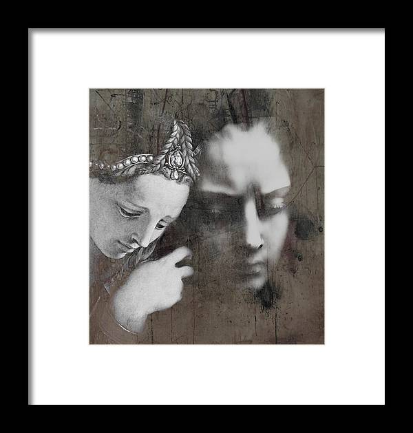 Emotion Framed Print featuring the mixed media One by Paul Lovering
