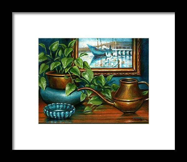 Artwork Framed Print featuring the painting O'neills Painting by Colleen Maas-Pastore