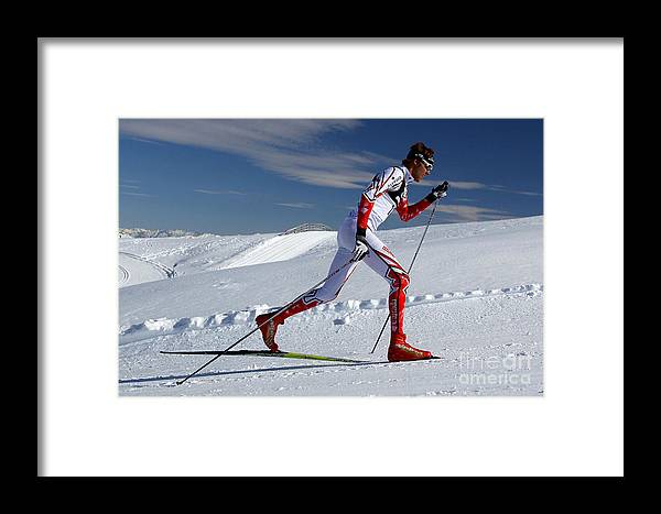 Winter Framed Print featuring the photograph Online Winter Sports Equipment by SportReseller