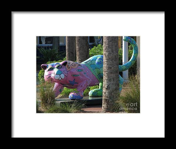 Patzer Framed Print featuring the photograph Only At The Beach by Greg Patzer