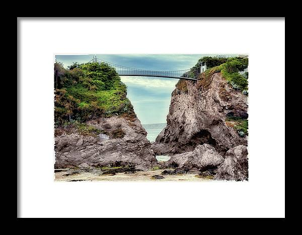 Home Framed Print featuring the photograph Only Way In by Pennie McCracken
