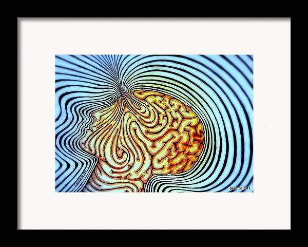 Purpose Of Our Existence Framed Print featuring the digital art Only We Can Shape Our Own Destiny by Paulo Zerbato