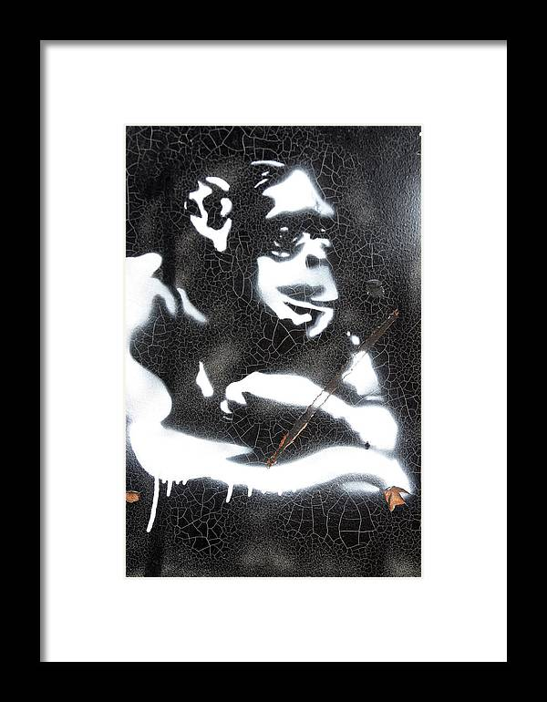 Photographer Framed Print featuring the photograph Ooh Ooh by Jez C Self