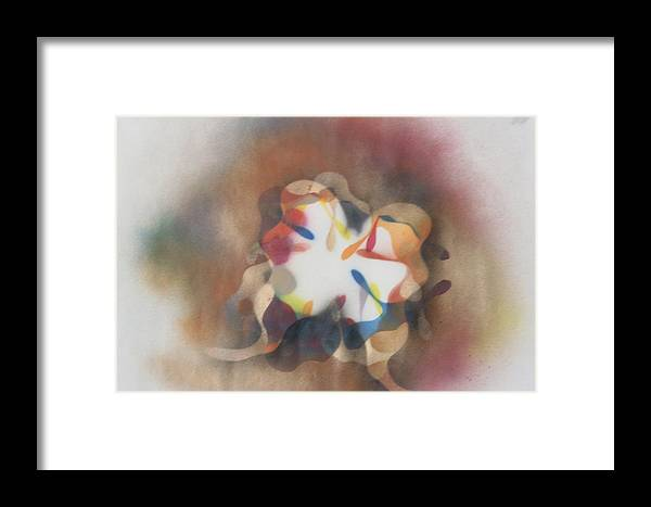 Butterfly Framed Print featuring the painting Open Flight by Roy Woods