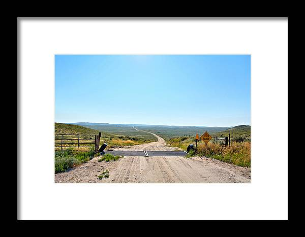 Open Range Framed Print featuring the photograph Open Range by Bonfire Photography