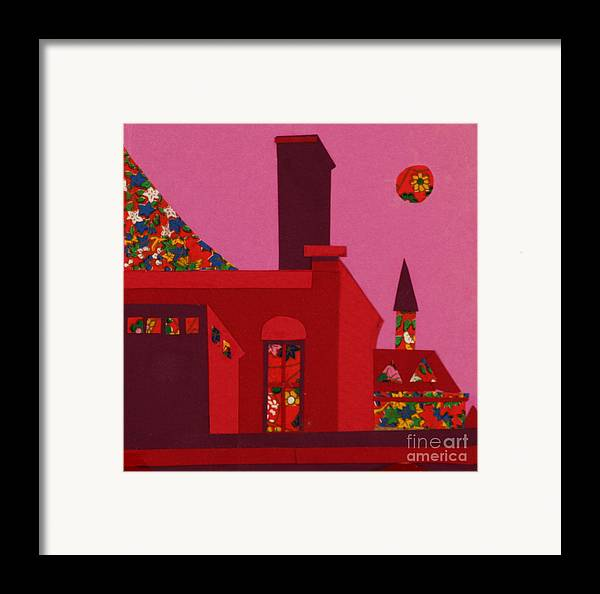 Opera House Framed Print featuring the mixed media Opera House by Debra Bretton Robinson
