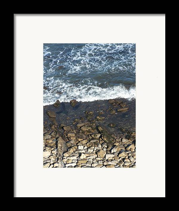 Ocean Framed Print featuring the photograph Opponents by Shari Chavira