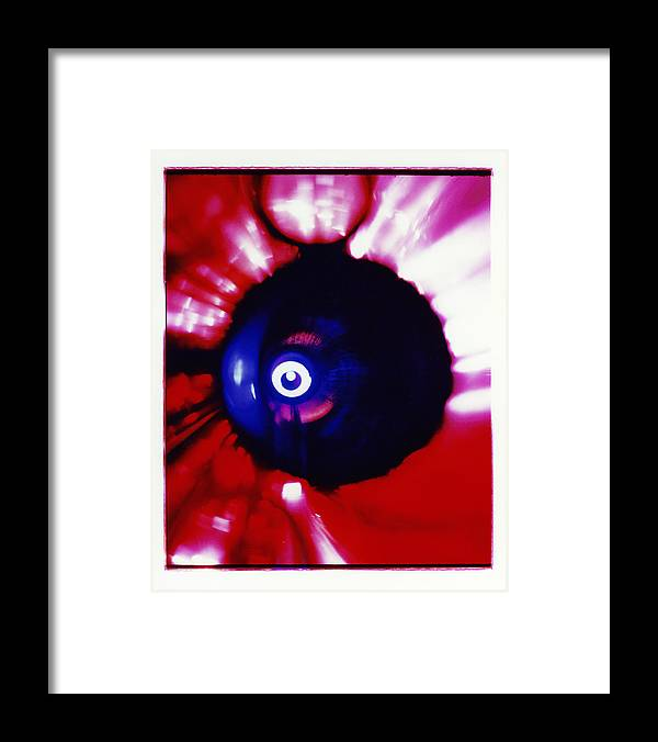 Abstract Framed Print featuring the photograph Oracle by David Rivas