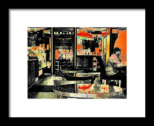 Orange Framed Print featuring the photograph Orange by Gary Everson