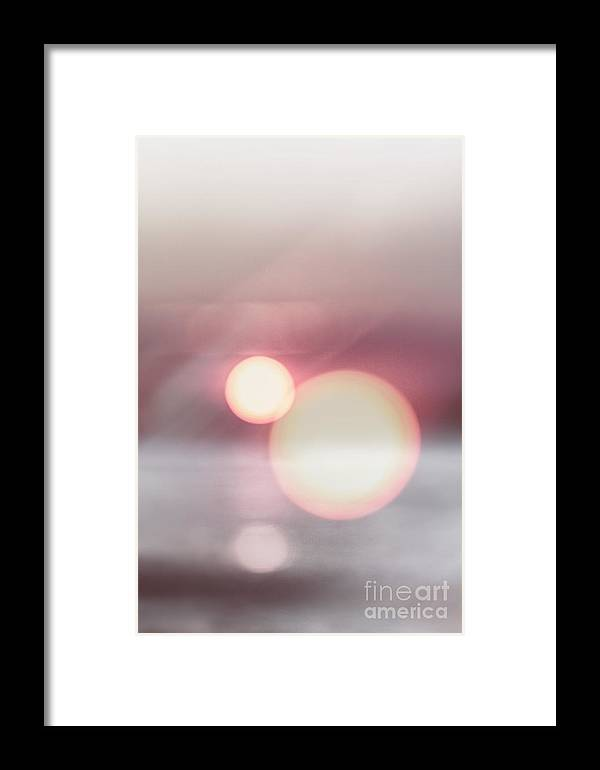 Orbs Framed Print featuring the photograph Orbs by Margie Hurwich