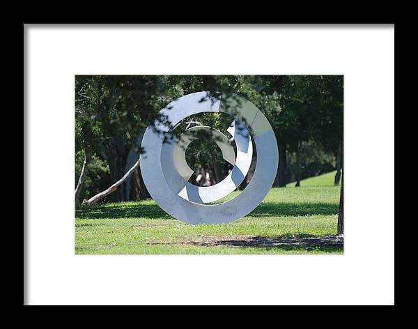 Landscape Framed Print featuring the photograph Orbs by Rob Hans