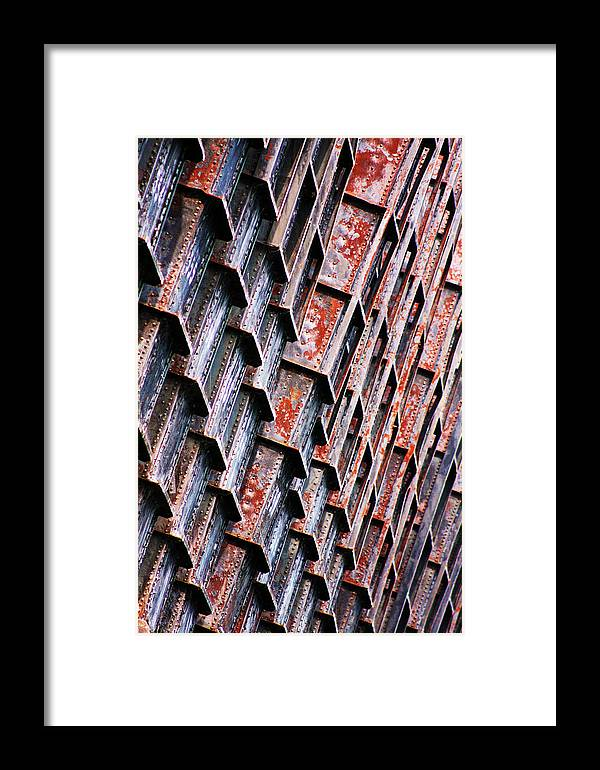 Rust Framed Print featuring the photograph Ore Dock Rust by Ty Helbach