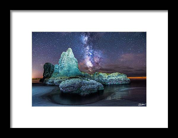 Landscape Framed Print featuring the photograph Oregon Coast Magic by Russell Wells
