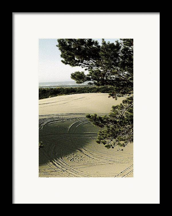 Oregon Dunes National Recreation Area Framed Print featuring the photograph Oregon Dunes 3 by Eike Kistenmacher