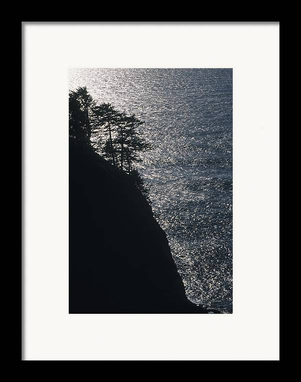 Oregon Framed Print featuring the photograph Oregon Silhouette by Lynard Stroud
