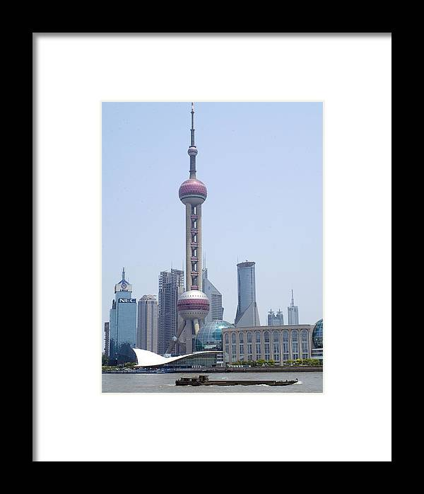 Oriental Pearl Framed Print featuring the photograph Oriental Pearl by Charles Ridgway