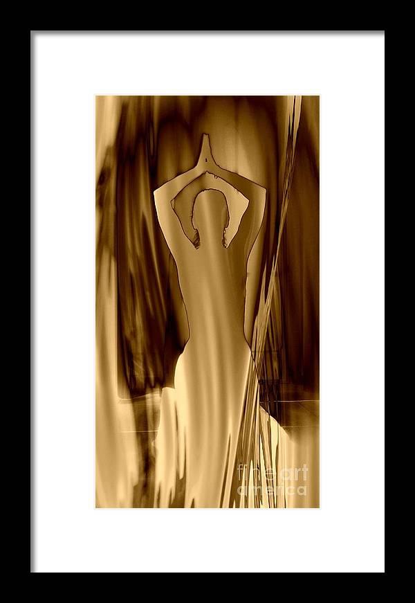 Art Framed Print featuring the photograph Orison 1 by Eva Maria Nova
