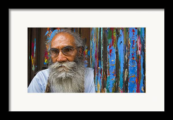 Architecture Framed Print featuring the photograph Orizaba Painter by Skip Hunt