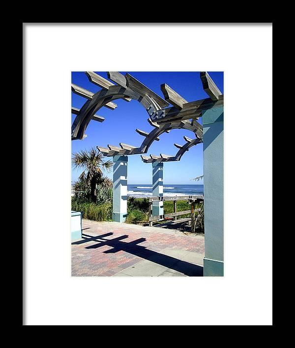 Ormond Beach Framed Print featuring the photograph Ormond Beach by Scarlett Royal