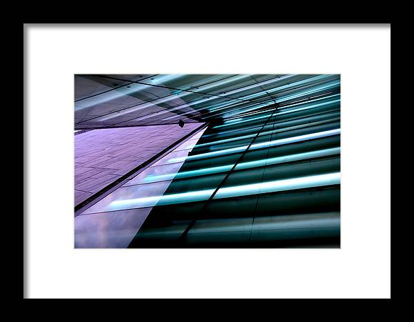 Abstract Framed Print featuring the photograph Oslo Opera House Norway 211 by Per Lidvall