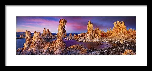 Mono Lake Framed Print featuring the photograph Other World - Craigbill.com - Open Edition by Craig Bill