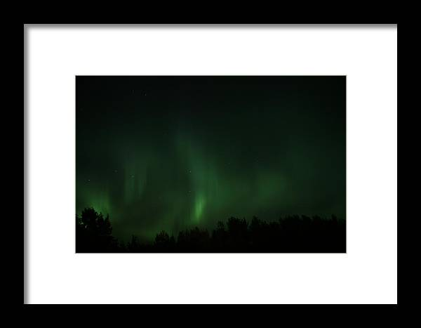 Northern Lights Framed Print featuring the photograph Ouch..ouch ..ouch.. by Taylor Howe